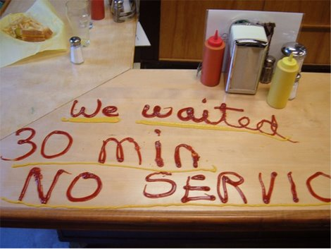Bad Service Can You Rate Me?